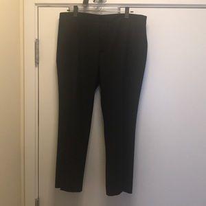 Zara Woman Collection Black Chino Trouser Size 12